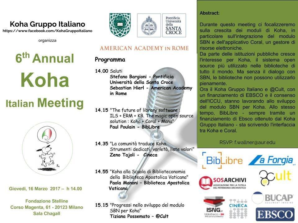 koha meeting 2017
